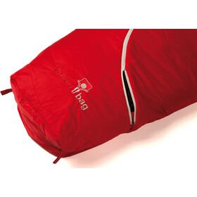 Grüezi-Bag Biopod Wool Zero Makuupussi, tango red